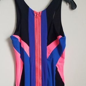 bebe Dresses - NWOT BEBE Colorblock Bodycon Dress